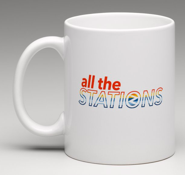 All The Stations mug
