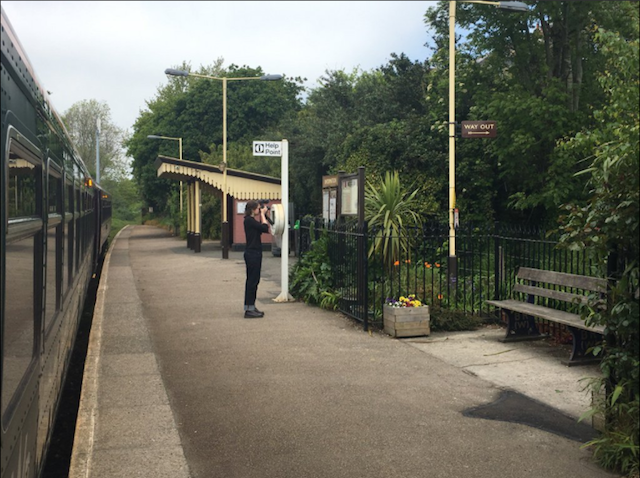 All The Stations: Vicki at Penmere Station